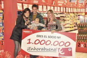 EROSKI CLUB - SOCIO 1 MILLÓN