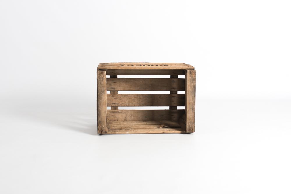 Caja fruta antigua madera