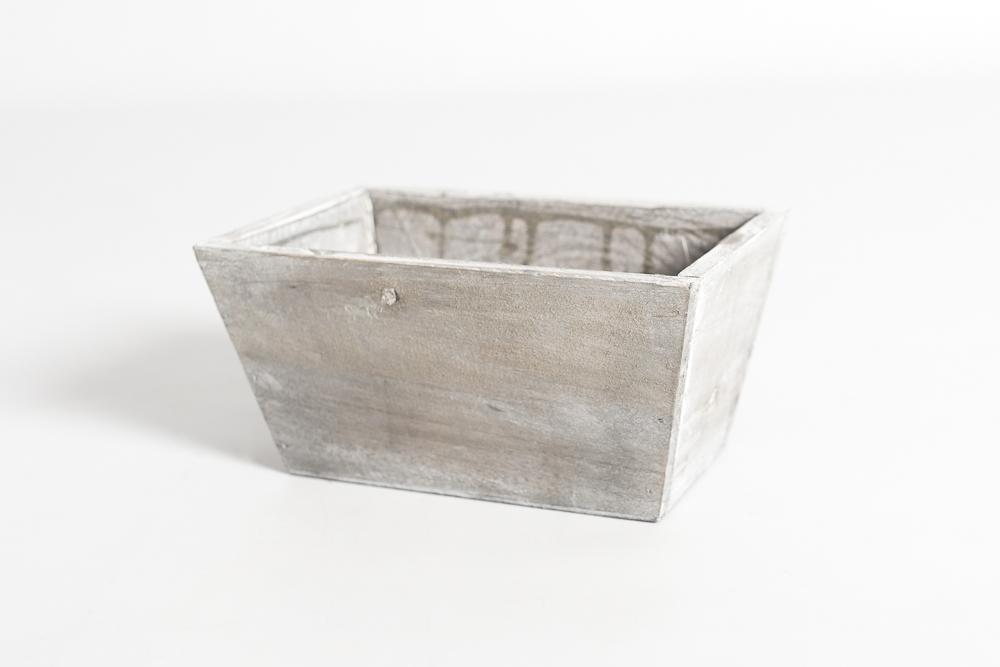 Centro de mesas rectangulares grises