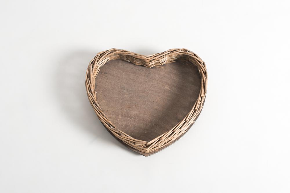 Cesta corazón