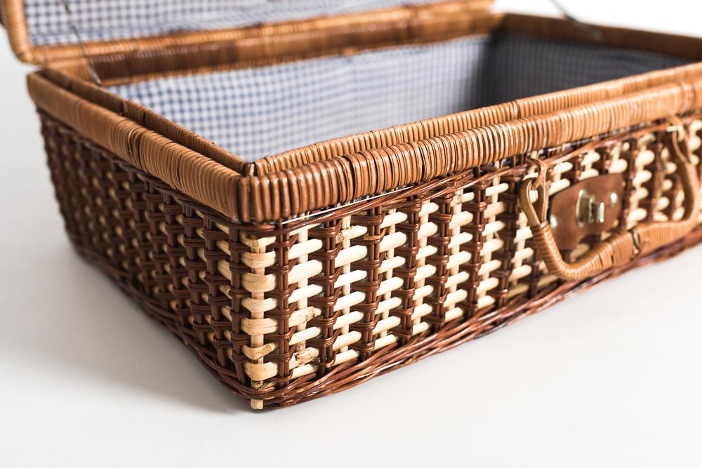 Maleta vintage piknik argia