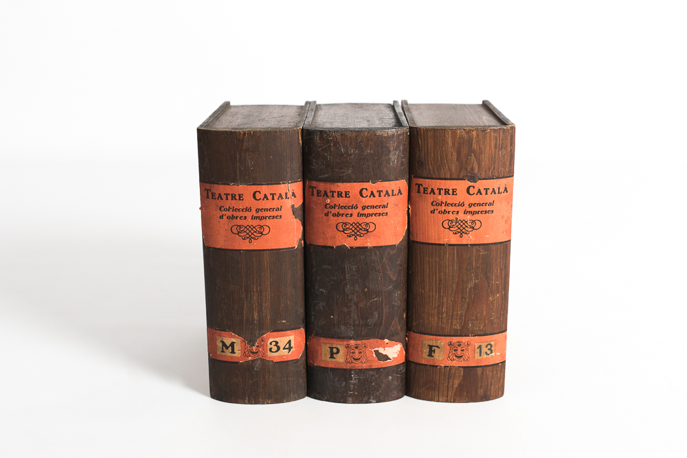Libros madera